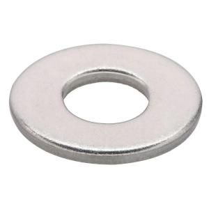 #8 Stainless-Steel Flat Washers (50-Pack)-32472 at The Home Depot