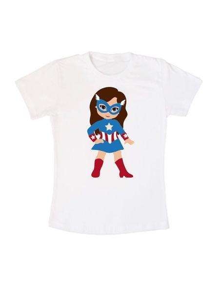 Camiseta Capitã América