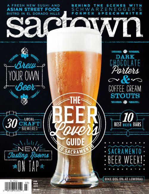 Sactown (US): The Beer Lover's Guide (via Cover Junkie).