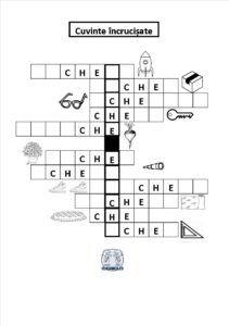 Grupul de litere che - Cuvinte încrucișate