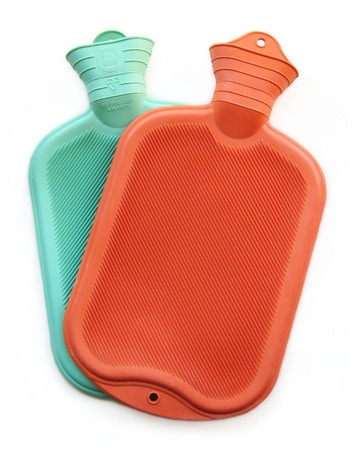 Hot water bottles. How me and my brother stayed warm in the cold winter months. Our house had no central heating and we woke up to ice on the inside of our windows when it was really cold