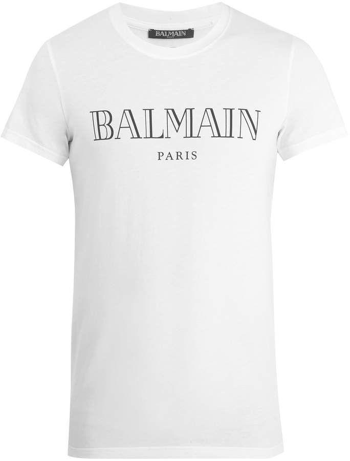 830e3886 Logo-print cotton-jersey T-shirt #rubber#lightweight#show | handmade ...