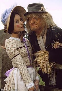 Worzel Gummidge. Anyone else really hate Aunt Sally? Even today I can't say 'Nice cup o' tea and a slice o' cake' without sounding like Worzel!