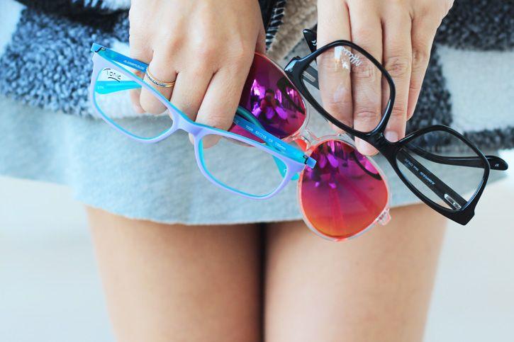 Nuria González lo sabe muy bien… Con Tchin Tchin Especial Navidad, ¡tendrás muchas gafas entre las que elegir!  http://www.alainafflelou.es/productos/catalogo/tonic/t021-c5