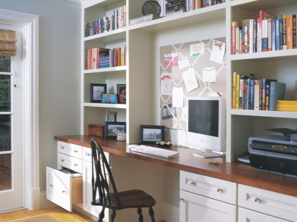 1000 ideas about office built ins on pinterest office for Study room wall cabinets