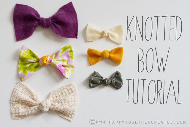 It's such an easy hair bow to make! And it's a great way to use up scraps too.