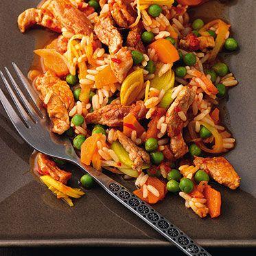 Ungarische Reispfanne Rezept | Küchengötter