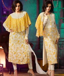 jewellery online stores Buy Beige Georgette Straight Cut Suit 74404 online at lowest price from huge