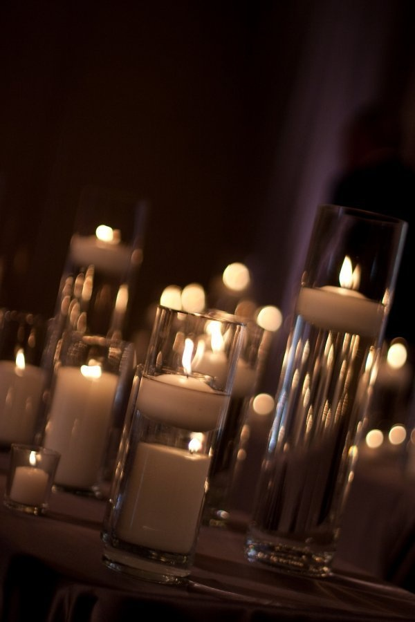 candles candles candles #romantic #wedding