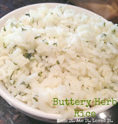 Made It. Ate It. Loved It.: Buttery Herb Rice