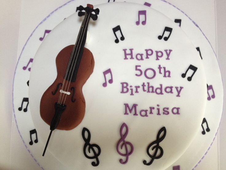 Birthday cake- Musician theme Available to order from www.miriamsmunchies.co.uk #Birthdaycakes #musician