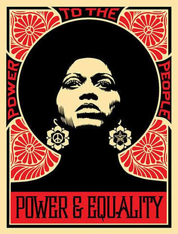 Power and Equality  - Shepard Fairey