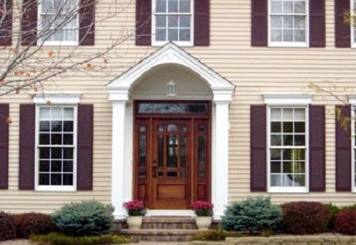 colonial front doors with glass | Colonial Front Door Ideas