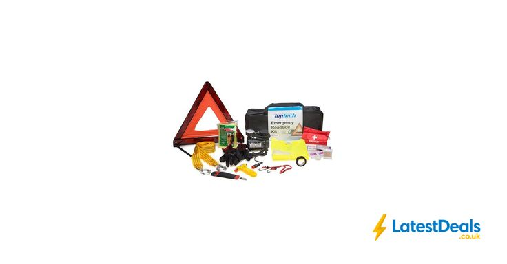 Top Tech 12pc Emergency Roadside Kit Free Delivery, £14.99 at Euro Car Parts