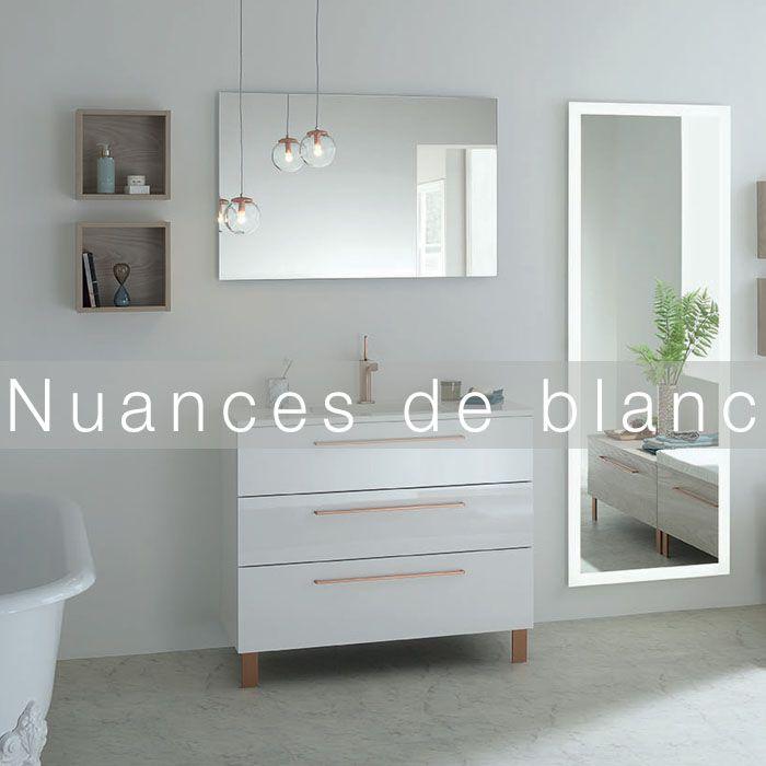 Inspirez Vous De Sanijura Pour Creer Une Jolie Salle De Bain Couleur Blanc En 2020 Blanc Blanc Couleur Salle De Bain Blanche