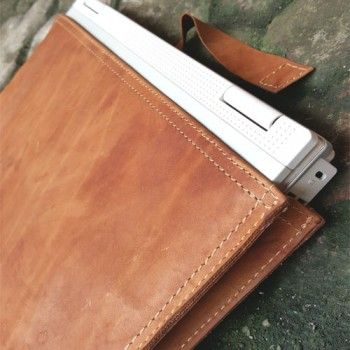 Crazy Horse Leather Laptop Case 001
