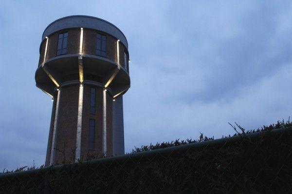 La casa di lusso ricavata dalla vecchia torre dell'acqua