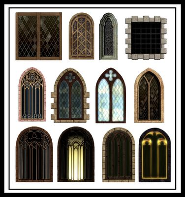 41 best medieval window images on Pinterest | Middle ages ...
