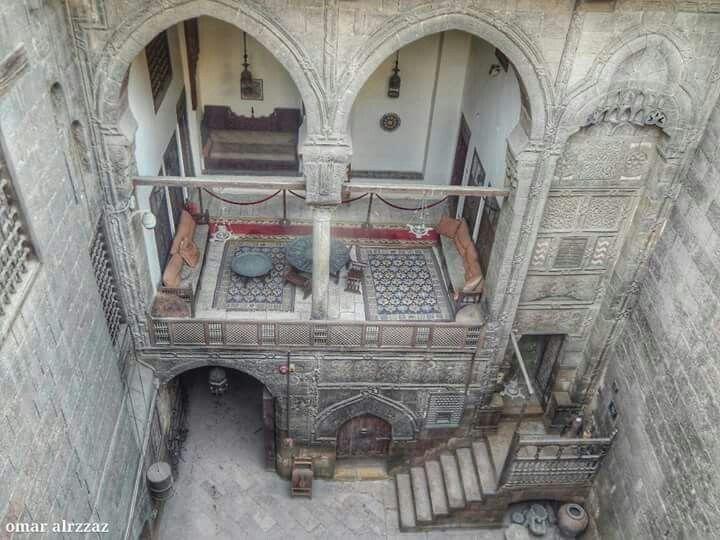 بيت الكرتيليه بجوار مسجد احمد بن طولون  متحف جاير اندرسون  BY: Omar alrzzaz