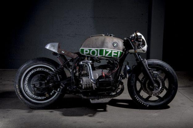 İsviçre Polisi Sizi Bununla Kovalayacak | Custom BMW R80 RT         |          TeknOlsun