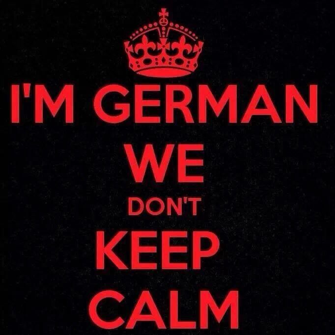 Idk which side give me more temper. Lol. German or Panamanian!