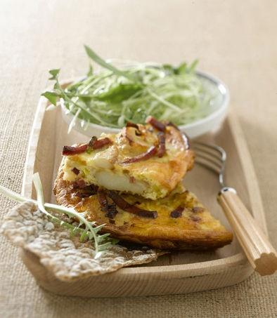 La ricetta per la torta salata con speck e patate