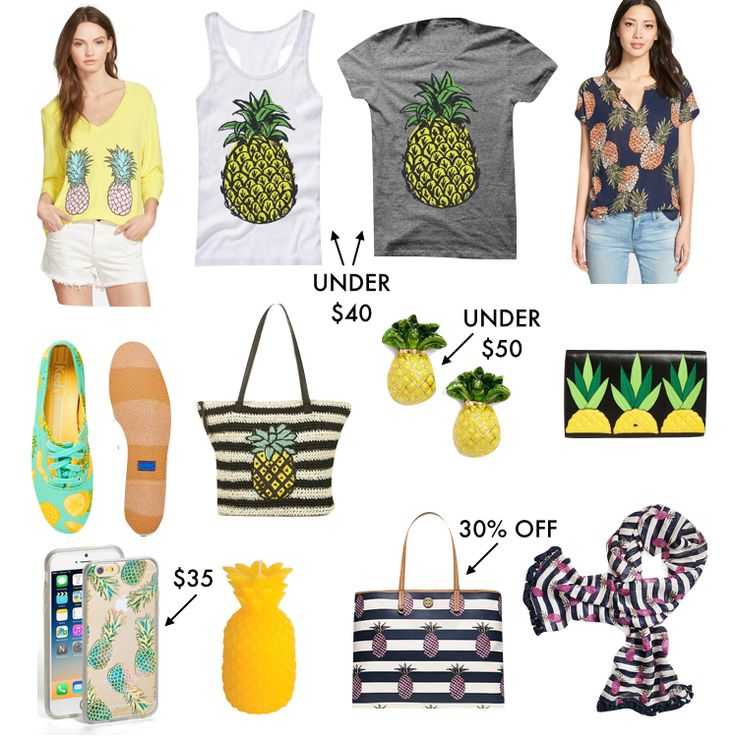 Pineapple Clothing & Accessories - A Southern Drawl