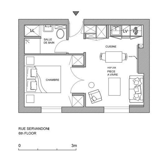 17 best images about fantastic floor plans on pinterest for Tiny apartment plans