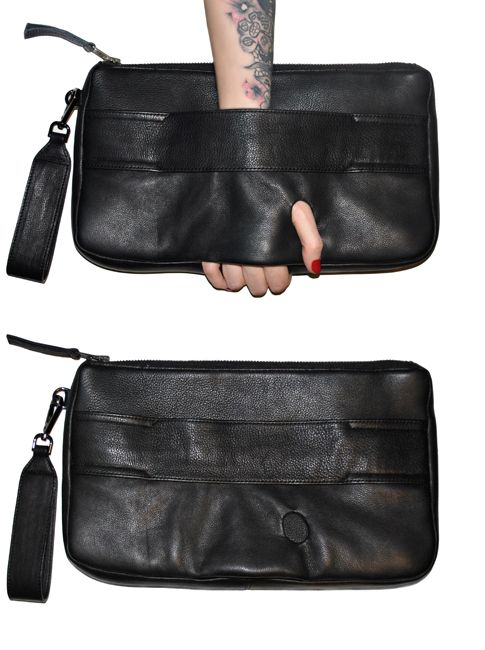 #bag Thumbhole Clutch from IRM Design