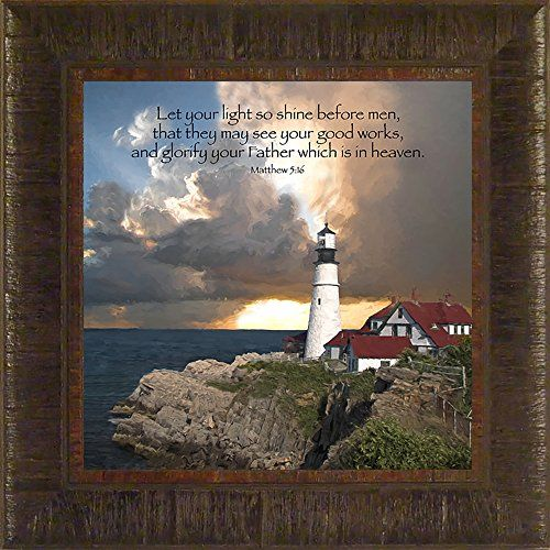 bible verse about painting the sky 45 best images about lighthouse framed on 13152