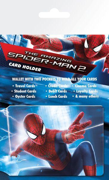 Niesamowity Spiderman 2 - okładki na dokumenty i karty