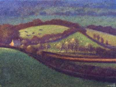 James Lynch, The Smallholding egg tempera