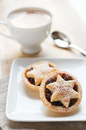 Adorable little mince pies. Can use any fruit filling here, or go savory. Choice is yours!