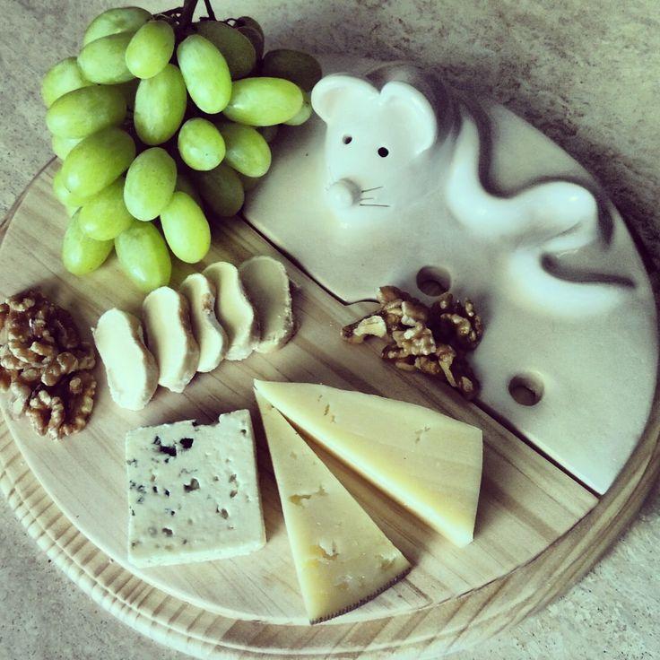 Tabla quesos.