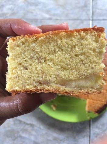 Bolu pisang/Banana sponge cake