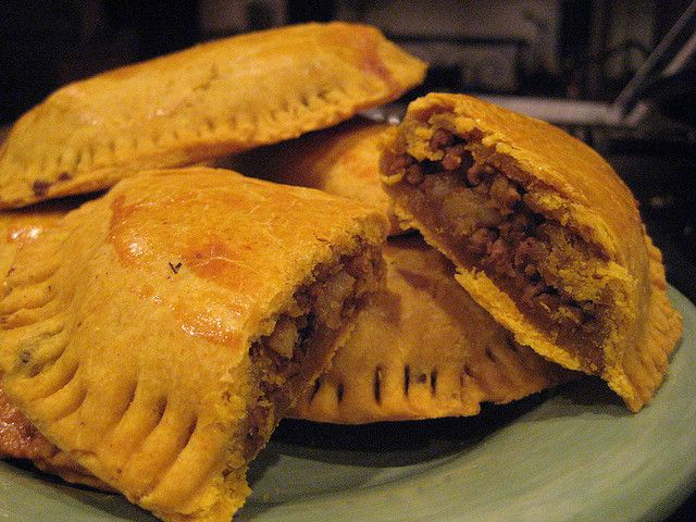 Jamaican Beef Patties by eatworkeat, via Flickr http://www.caribbeanchoice.com/recipes/recipe.asp?recipe=186