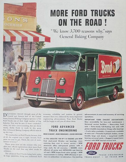1945 bread truck for sale
