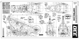 330 hard tail chopper frame plans