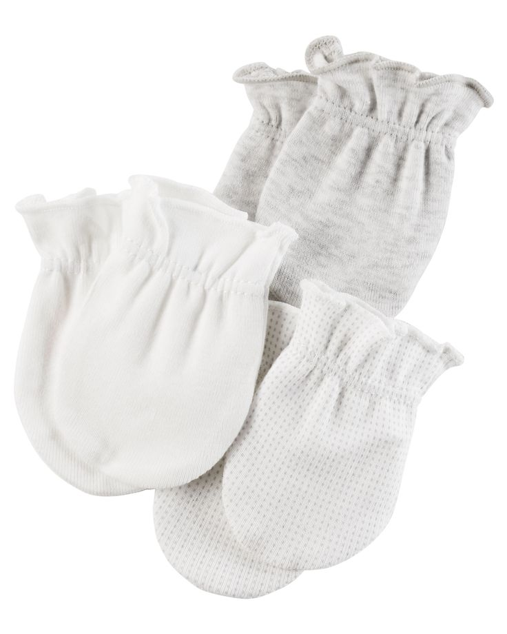 Baby Neutral 3-Pack Mittens | Carters.com