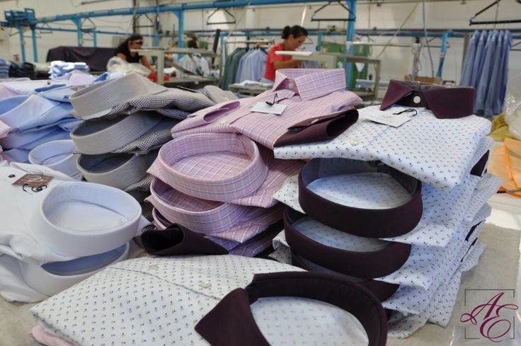 #ALISIAENCO shirts in the making. #howitsmade #makingof #shirtcraft