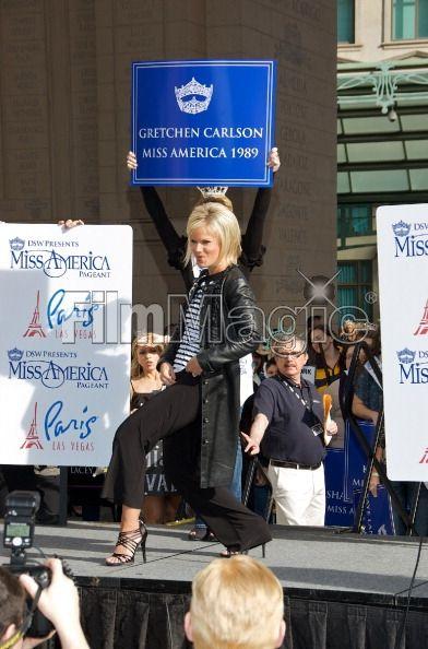 Miss America 1989 Gretchen Carlson...                                                                                                                                                     More