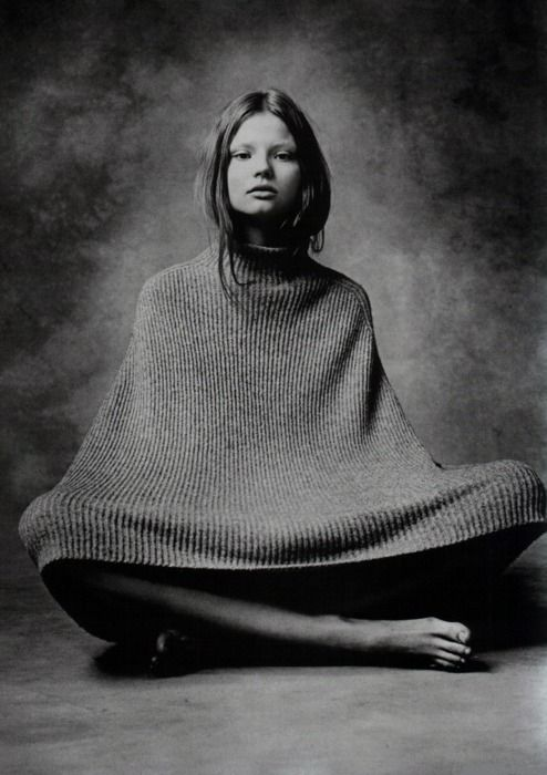Unknown: August 2007, Mariano Vivanco, Style, Dazed And Confusion, Magdalenafrackowiak, Confusion August, Ponchos, Photo, Magdalena Frackowiak