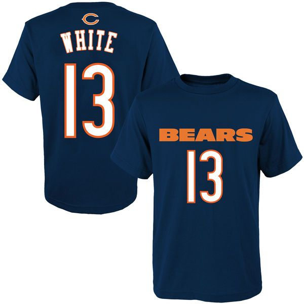 Kevin White Chicago Bears Youth 2015 NFL Draft Mainliner Name & Number T-Shirt - Navy - $24.99