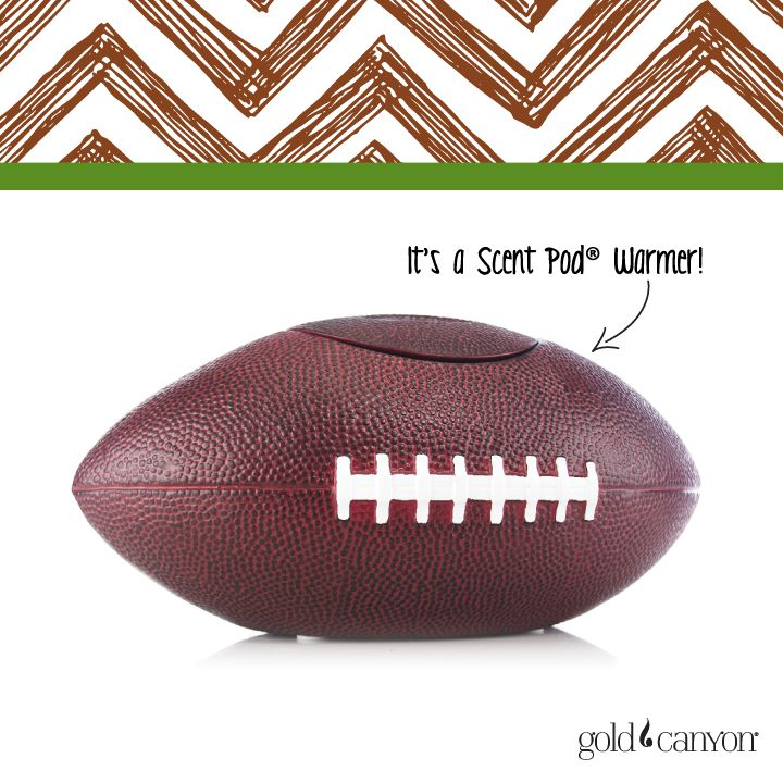 Are you ready for some football? With the lid, it's a  football in actual junior league size. Without it, it's a Warmer!
