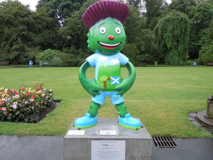 Clyde (Mascot) - 2014 Commonwealth Games - Wikipedia, the free encyclopedia