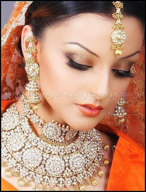 Indian Bridal make up by honeysbeautylounge, via Flickr