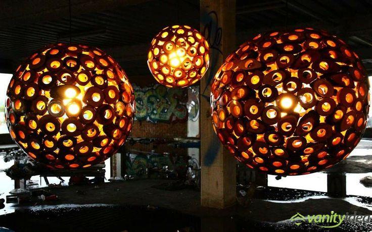 Eden Inspired Wooden Lamp