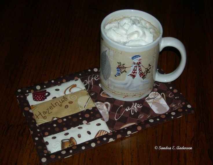 A Legacy of Stitches: A wee tutorial for a Cookie Coaster/Mug Rug!