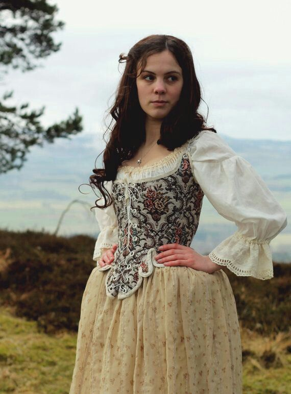 Vestido  siglo XVIII