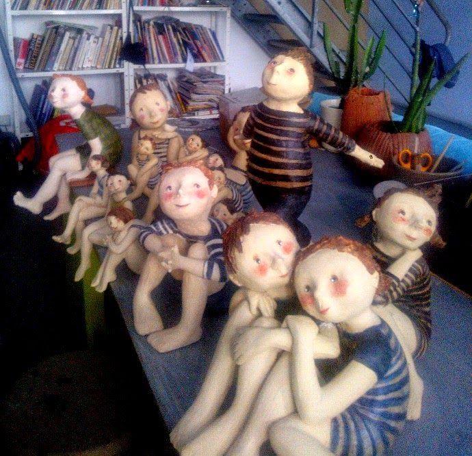 Jackie ALONSO : Dans l'atelier...